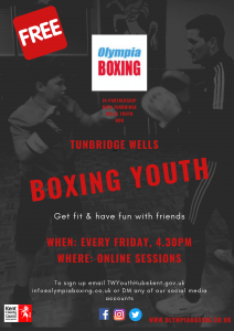 Tunbridge Wells New Session Poster